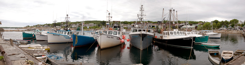 Lobster boats at rest, Rockport, MA