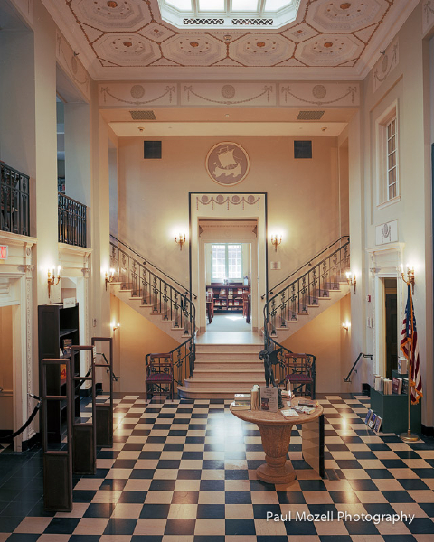 Lobby, Beebe Library, Wakefield, MA