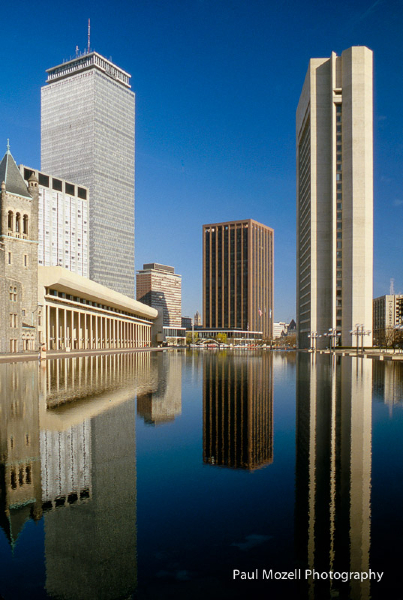 Christian Science Center Reflecting Pool, Boston