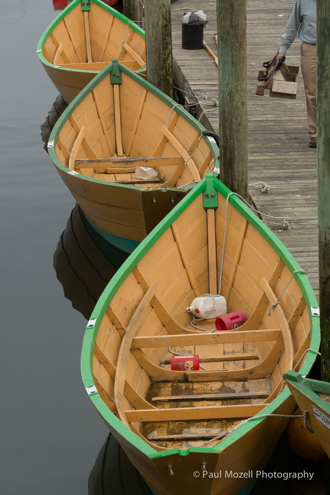 Dories built and rowed in Gloucester
