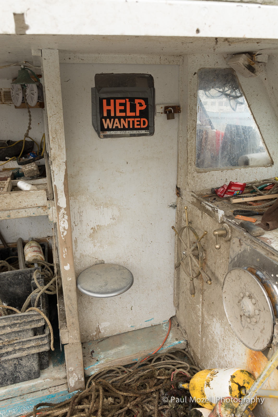 This old lobster boat may need a lot of help.
