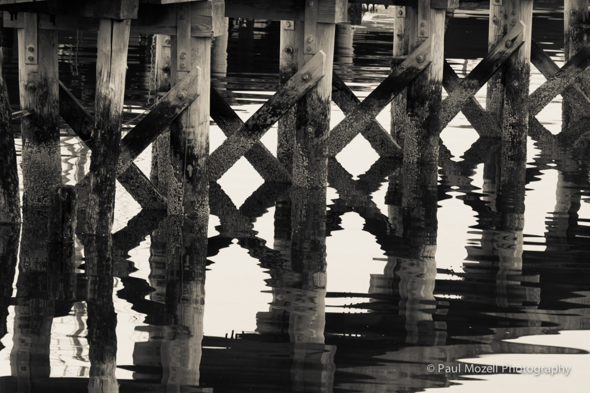 Old Pier Reflections